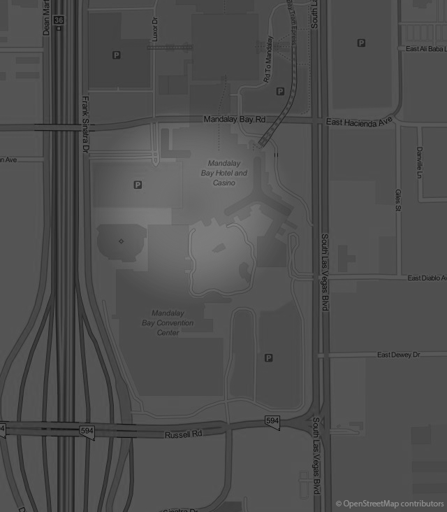 Footer Site Map: Delano Las Vegas