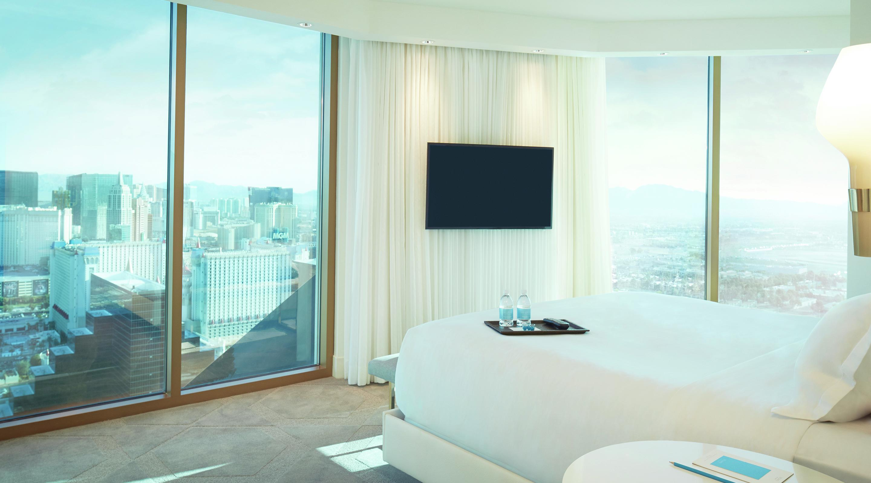 Las Vegas Hotels With 2 Bedroom Suites Scenic Suite Delano Las Vegas